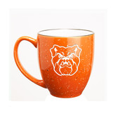 Butler Bulldogs 15 oz. Deep Etched Orange Bistro Mug