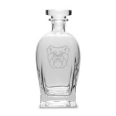 Butler Bulldogs 23.75 Oz Deep Etched Rossini Decanter