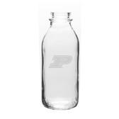 Purdue Boilermakers 33.5 oz. Deep Etched Milk Bottle