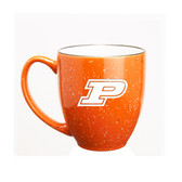Purdue Boilermakers 15 oz. Deep Etched Orange Bistro Mug