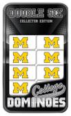 Michigan Wolverines Dominoes