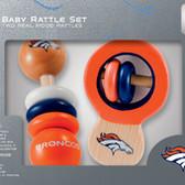 Denver Broncos Rattles
