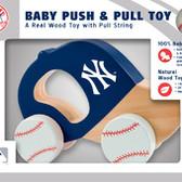 New York Yankees Push/Pull Toy