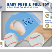 Kansas City Royals Push/Pull Toy
