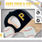 Pittsburgh Pirates Push/Pull Toy