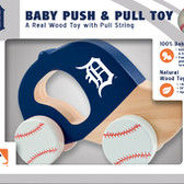 Detroit Tigers Push/Pull Toy