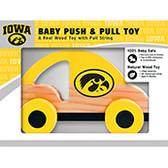 Iowa Hawkeyes Push/Pull Toy