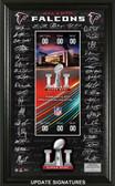 Atlanta Falcons Super Bowl 51 Signature Ticket