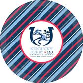 """143rd Kentucky Derby 9"""" Paper Plates - 8/pkg."""