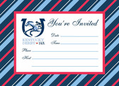 143rd Kentucky Derby Party Invitations - 8 cards w/env.