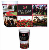 Kentucky Derby 22 oz. Plastic Souvenir Cups - 4/pkg.