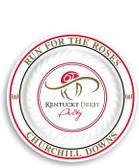 "Kentucky Derby 7.5"" Plastic Plates - 4/pkg."