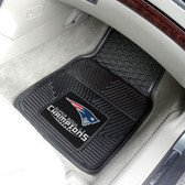 "New England Patriots Super Bowl LI Champions Heavy Duty 2-Piece Vinyl Car Mats 18""x27"""