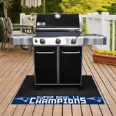 "New England Patriots Super Bowl LI Champions Grill Mat 26""x42"""