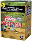 2017 Topps Heritage Trading Card Blaster Box