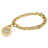 United State Coast Guard Gold Charm Bracelet