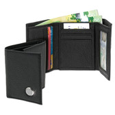Wake Forest Demon Deacons Men's Leather Wallet