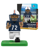 Auburn Tigers SHON COLEMAN College Legend Limited Edition OYO Minifigure