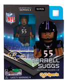 Baltimore Ravens TERRELL SUGGS Limited Edition OYO Minifigure