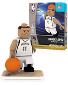 Brooklyn Nets BROOK LOPEZ Home Uniform Limited Edition OYO Minifigure