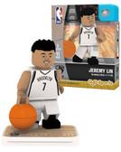Brooklyn Nets JEREMY LIN Home Uniform Limited Edition OYO Minifigure