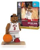 Chicago Bulls DWYANE WADE Home Uniform Limited Edition OYO Minifigure