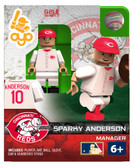 Cincinnati Reds Sparky Anderson Hall of Fame Limited Edition OYO Minifigure