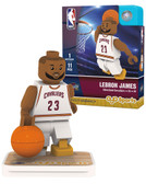Cleveland Cavaliers LEBRON JAMES Home Uniform Limited Edition OYO Minifigure