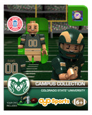 Colorado State Rams Campus Collection Collection Campus Series Limited Edition OYO Minifigure