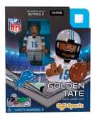 Detroit Lions GOLDEN TATE Limited Edition OYO Minifigure