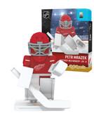 Detroit Red Wings PETR MRAZEK Home Uniform Limited Edition NHL Goalie OYO Minifigure