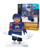 Edmonton Oilers OSCAR KLEFBOM Home Uniform Limited Edition OYO Minifigure