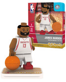 Houston Rockets JAMES HARDEN Home Uniform Limited Edition OYO Minifigure