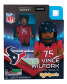 Houston Texans VINCE WILFORK Limited Edition OYO Minifigure