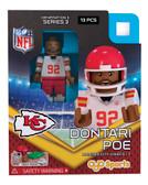 Kansas City Chiefs DONTARI POE Limited Edition OYO Minifigure