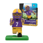 LSU Tigers PATRICK PETERSON College Legend Limited Edition OYO Minifigure