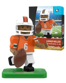 Miami Hurricanes LAMAR MILLER College Legend Limited Edition OYO Minifigure