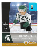 Michigan State University Spartans DUNCAN KEITH Campus Legend Home Uniform Limited Edition OYO Minifigure