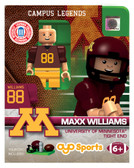 Minnesota Gophers MAXX WILLIAMS College Legend Limited Edition OYO Minifigure