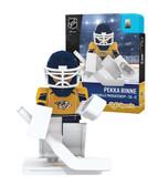 Nashville Predators PEKKA RINNE Home Uniform Limited Edition NHL Goalie OYO Minifigure