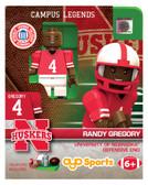 Nebraska Huskers RANDY GREGORY College Legend Limited Edition OYO Minifigure