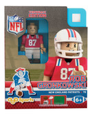 New England Patriots Rob Gronkowski Throwback Limited Edition OYO Minifigure