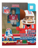 New England Patriots Tom Brady Throwback Limited Edition OYO Minifigure