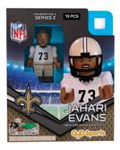 New Orleans Saints JAHARI EVANS Limited Edition OYO Minifigure