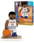 New York Knicks DERRICK ROSE Home Uniform Limited Edition OYO Minifigure