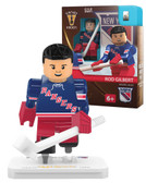 New York Rangers Rod Gilbert Vintage Home Uniform Limited Edition OYO Minifigure