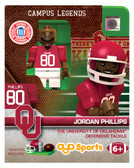 Oklahoma Sooners JORDAN PHILLIPS College Legend Limited Edition OYO Minifigure