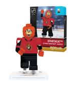 Ottawa Senators SPARTACAT SPARTY Home Uniform Limited Edition OYO Minifigure