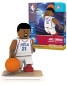 Philadelphia 76ers JOEL EMBIID Home Uniform Limited Edition OYO Minifigure