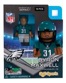 Philadelphia Eagles BYRON MAXWELL Limited Edition OYO Minifigure